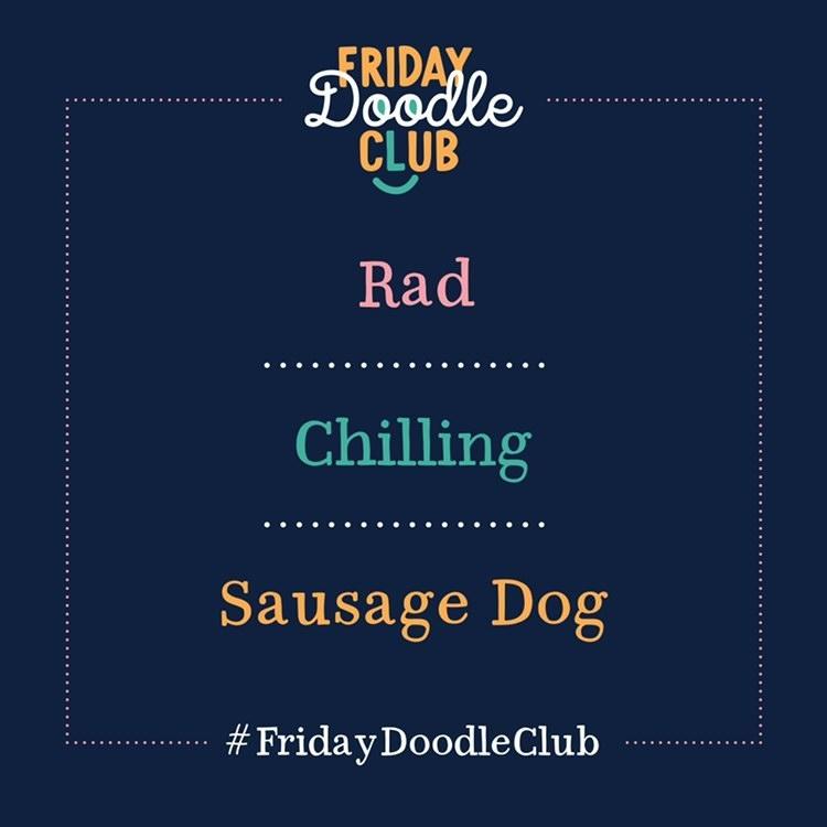 Friday-Doodle-Club_Sausage-Dog_blue